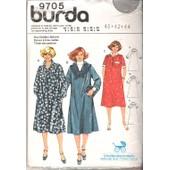 Patron Couture Burda N� 9705 , Robe Maternit�, Future Maman, Taille 40. 42. 44