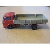 Camion Majorette Daf 2600 Avec Remorque Basse