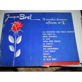 Jacques Brel, 12 nouvelles chansons, album n°2