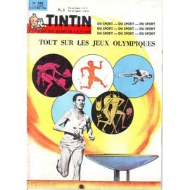 Le Journal De Tintin N� 833 : Tout Sur Les Jeux Olympiques