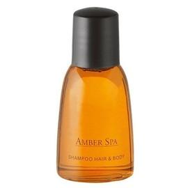 10 Gel Bain Douche Shampoing Amber Spa Corps Et Cheveux Senteur Ambre Relaxant