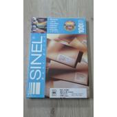 Etiquettes Sinel 21895