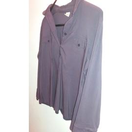 Chemise M&s Mode Blouse Acrylique 50 Violet