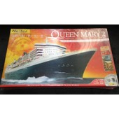 Maquette Queen Mary 2 Heller, Neuf Sous Blister, N� 52902 �chelle 1/600 , Long 575 Mm, Large 75 Mm