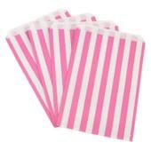 Bolsas Para Caramelos - Rosa, Pack De 100