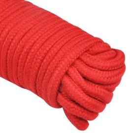 Sex Toys Corde De 10m Pour Bondage - Bdsm Rouge