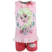 La Reine Des Neiges Ensemble Legging Et T-Shirt Fille Elsa - Petite Frappe