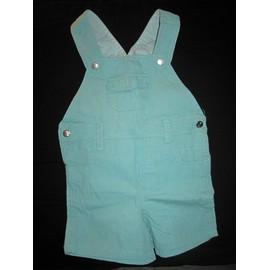 Salopette Graine De Kid Short Coton 18 Mois Bleu