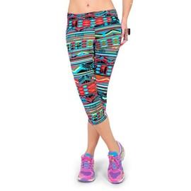 Femme Pantacourt Exercice Leggings Elastique Sport Fitness #1