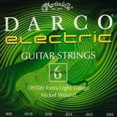 Martin Darco D9300 Extra Light Cordes Guitare �lectrique 9-42