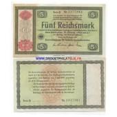 Allemagne 5 Mark Pick 207