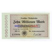 Allemagne Dix Millions Mark Pick 1014