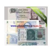 Argentine 5 Billets Differents