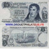 Argentine 5 Peso Pick 294
