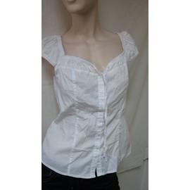 Chemise Guess Coton S Blanc