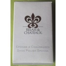 Eponge � Chaussures Relais & Chateaux
