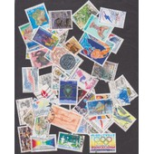 50 Timbres Oblit�r�s France