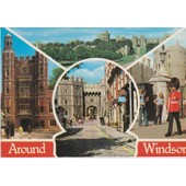 Windsor : Eton College, Church Street, The Castle, Sentry At The Castle - 1975