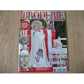 Broderie Inspiration N�25 - Brodez Comme Vous Aimez