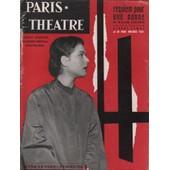 Paris Th�atre N� 123 / Requiem Pour Une Nonne De William Faulkner