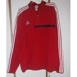 Pull Football Adidas Polyester Xxl Rouge