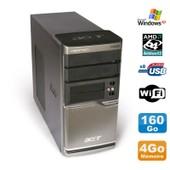 PC ACER Veriton M420 Athlon X2 4850B Ram 4Go Disque 160Go DVD WIFI Win XP