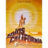 Adios California (California Addio) - V�ritable Affiche De Cin�ma Pli�e - Format 120x160 Cm - De Michele Lupo Avec Giuliano Gemma, William Berger (Illustration Tandi) 1977 #