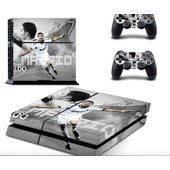 Cristiano Ronaldo Stickers Skins Pour Ps4 + 2 Skins Manettes