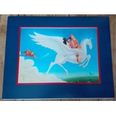 Lithographie Cartonn�e Couleurs Disney Hercule
