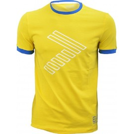 T Shirt Armani Ea7 Jaune Collection Train 7