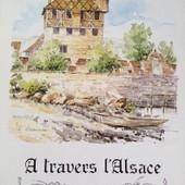 Calendrier Alsace 1992