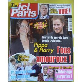 Ici Paris N�3676 - Fous Amoureux