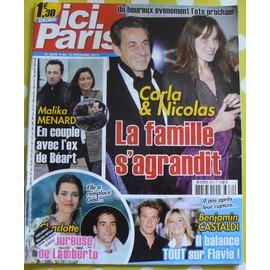 Ici Paris N�3670 - La Famille S'agrandit