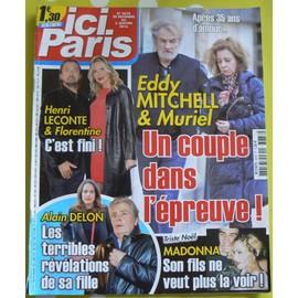 Ici Paris N�3678 - Un Couple Dans L'epreuve