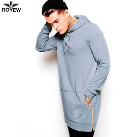 Hommes Britanniques Hoodies Hommes Hip Hop Streetwear Longue Fermeture �clair Arc Couper �tendu Sweatshirt Tyga Sportswear Bape Hoodie Hauts Casual
