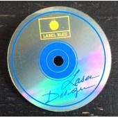 �pinglette : Label Bleu - Laser Disque (3 Cm)