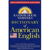 Random House Webster's Dictionary Of American English: Esl/Learner's Edition de Dalgish Gerard M