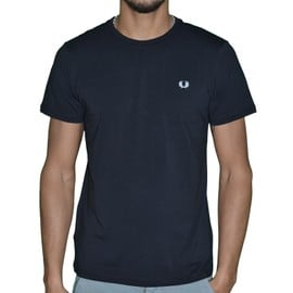 Fred Perry - T-Shirt Manches Courtes - Homme - Crew M6334 - Noir