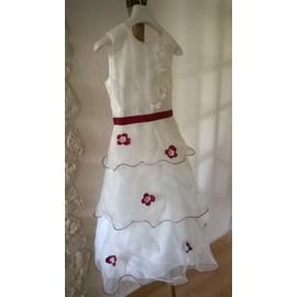 Robe De Soir�e Mabelle Acrylique 10 Ans Blanc