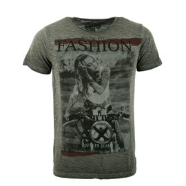 Tee-Shirts Manches Courtes Hommes Rivaldi Anthracite