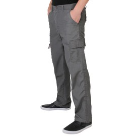 Homme Pantalon Style Cargo Militaire Ample Confortable Combat Casual Travail
