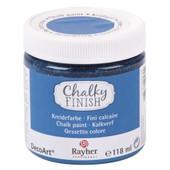 Peinture Craie (Chalky Finish) - Bleu Azur - 118 Ml - Rayher