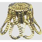 Calotte M�tal - 5,5 Cm - Bronze - Megacrea