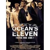 Ocean's Eleven - V�ritable Affiche De Cin�ma Pli�e - Format 40x60 Cm - De Steven Soderbergh Avec George Clooney, Brad Pitt, Julia Roberts, Matt Damon, Andy Garcia, Don Cheadle, Casey Affleck - 2002