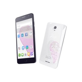 Alcatel One Touch POP Star Color pack 8 Go Double SIM Blanc