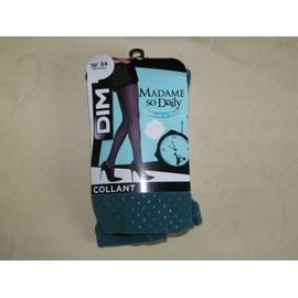 Collants Dim Madame So Daily Polyamide 42 Vert