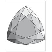 Mini Moule Pour Savon - Diamant Triangle - Dtm