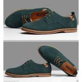 Nouveau Style Europ�en En Daim Chaussures En Cuir Men's Derbies La Mode D�contract�e