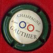 Capsule De Champagne Gauthier Cr�me Contour Vert