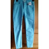 Pantalon Eleven Paris Coton - Taille 36 - Turquoise